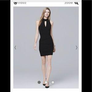 WHBM Black Instantly Slimming Dress
